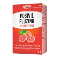 POSIVIL FLUZINK VERIAPPELSIINI 40 imeskelytabl
