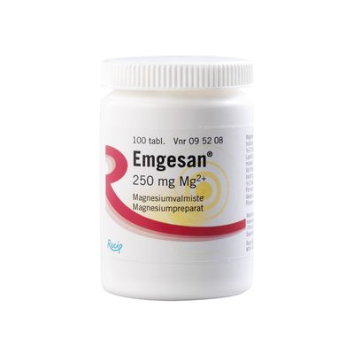EMGESAN 250 mg tabl 100 kpl