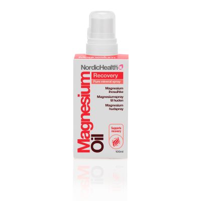 NordicHealth Magnesiumihosuihke Recovery 100 ml