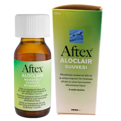 AFTEX ALOCLAIR SUUVESI X120 ML
