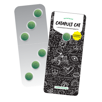 Catapult Cat ravintolisä 16x6 tabl