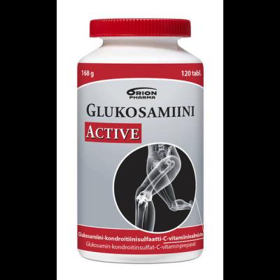 GLUKOSAMIINI ACTIVE X120 TABL