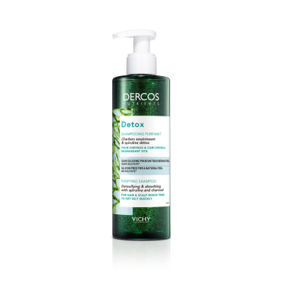 Vichy Dercos Nutrients Detox -Sh 250 ml