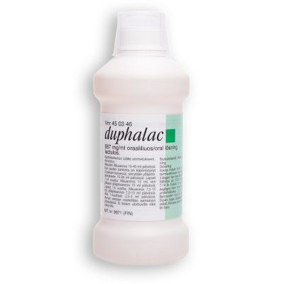 DUPHALAC 667 mg/ml oraaliliuos 500 ml
