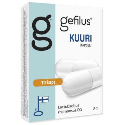 Gefilus Apteekkarin Kuuri kaps X10 kpl