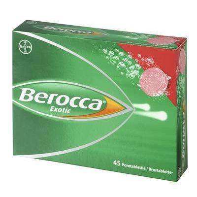 BEROCCA EXOTIC poretabl 45 kpl