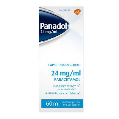 PANADOL 24 mg/ml oraalisusp 60 ml