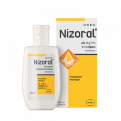 NIZORAL 20 mg/ml shampoo 100 ml