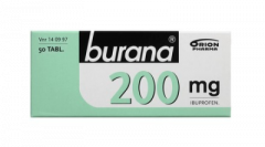 BURANA 200 mg tabl, kalvopääll 50 fol